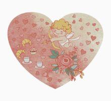 Romantic heart by Anna  Yudina