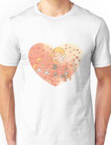 Romantic heart Unisex T-Shirt