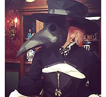 ♡ COMMANDER HOLLY - Table Flip Plague Mask Photographic Print