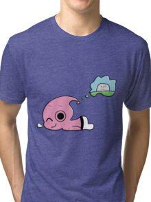 sleeping buu Tri-blend T-Shirt