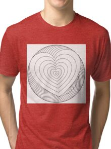 You color my heart Tri-blend T-Shirt