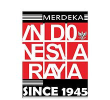 Indonesia Independent Day Since 1945 by arieframadhan