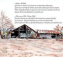 12 month Calender by Linda Ginn Art
