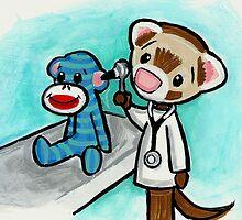 Monkey Doctor by Shelly  Mundel