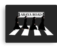 Abaya Road Canvas Print