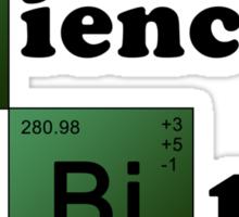 SCIENCE! [black] Sticker
