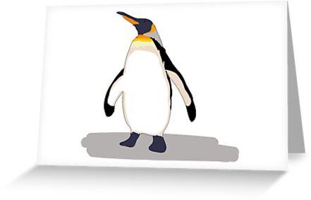 Pingüino by Kate Foray
