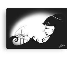 Fisherman's Bride Canvas Print