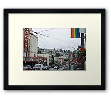 Castro - San Francisco  Framed Print