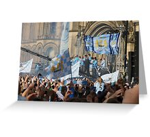 MCFC Parade Day Greeting Card