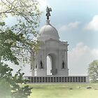 Pennsylvania Memorial at Gettysburg by Dyle Warren