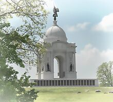 Pennsylvania Memorial at Gettysburg by Dyle Warren