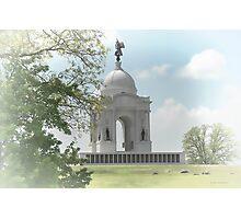 Pennsylvania Memorial at Gettysburg Photographic Print