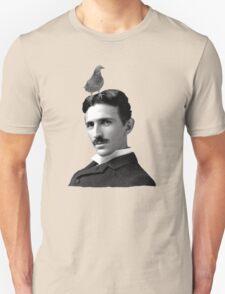 Tesla & Pigeon T-Shirt