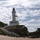 Point Lonsdale Lighthouse (2) Victoria. by Rita Blom