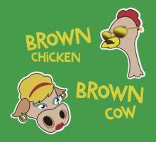 Brown Chicken Brown cow Kids Clothes