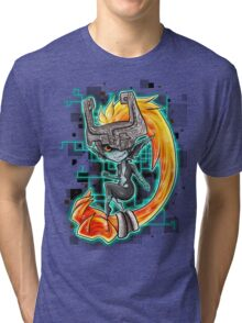 Midna, the Twilight princess Tri-blend T-Shirt