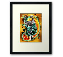 Midna, the Twilight princess Framed Print