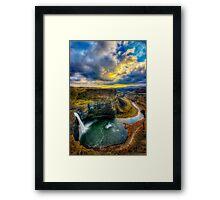 Palouse State Park Framed Print
