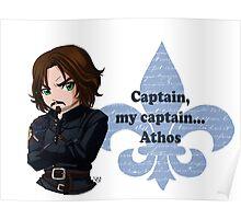 Captain, my captain.. Athos Poster