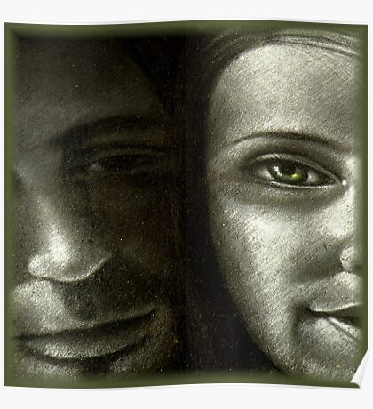 Chalk Portraits ~ Part Seventeen Poster