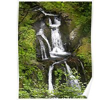 oregon waterfall Poster