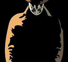 Rorschach  in the Shadows by Jenna Mandaglio