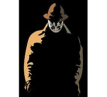 Rorschach  in the Shadows Photographic Print