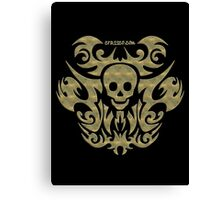 skull tattoo - mystical, humor, funny, underground Canvas Print