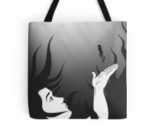 Diver's Bride Tote Bag