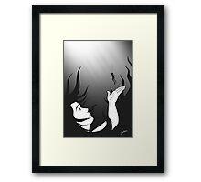 Diver's Bride Framed Print