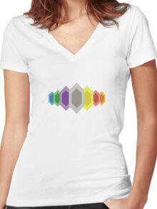 Rupees (Zelda) Women's Fitted V-Neck T-Shirt