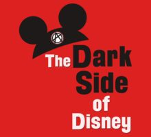 Dark Side of Disney Book Cover by BambooForest