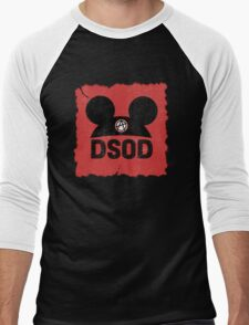 DSOD Torn Anarchy Ears Men's Baseball ¾ T-Shirt