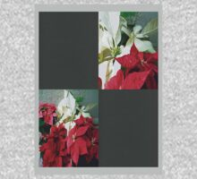 Mixed color Poinsettias 3 Blank Q6F0 Kids Clothes