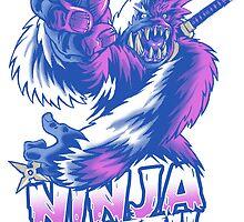 Ninja Yeti by cs3ink