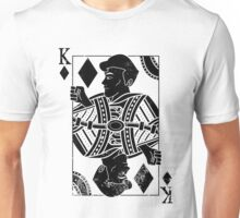 Justice Royalty - King of Strength (Pure Black) Unisex T-Shirt