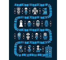 Fandom Guardians of the Galaxy, Star Wars, and Dr. Who Photographic Print