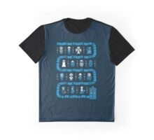 Fandom Guardians of the Galaxy, Star Wars, and Dr. Who Graphic T-Shirt