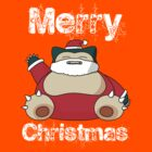 Snorlax - Merry Christmas by elyosz