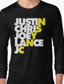 NSYNC Long Sleeve T-Shirt