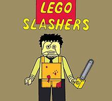 Lego Slashers: Leatherface by BonesteelKIC