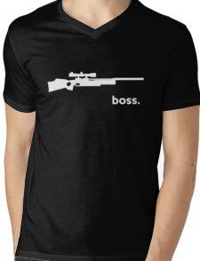Fx Boss Airgun T-shirt Mens V-Neck T-Shirt