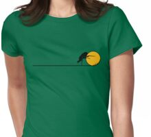 Rolling right along... Womens Fitted T-Shirt