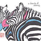 Dazzle of Zebras (v 2) by dosankodebbie