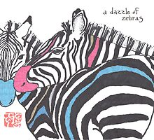 Dazzle of Zebras (v 2) by dosankodebbie