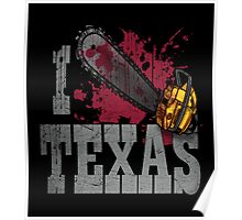 I Love Texas Poster