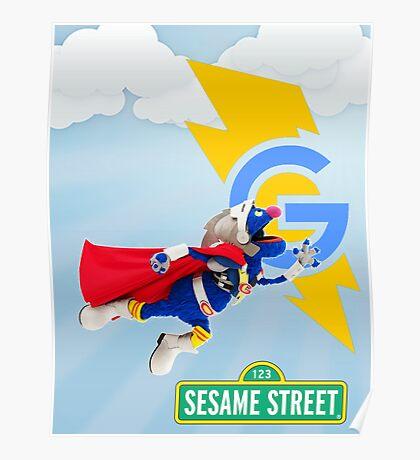 super grover  Poster