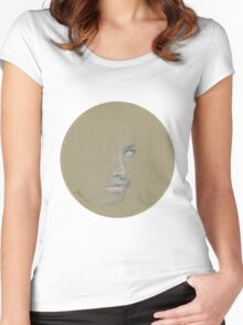 Gold Ring Women's Fitted Scoop T-Shirt