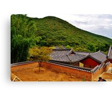 Korean Temple Canvas Print